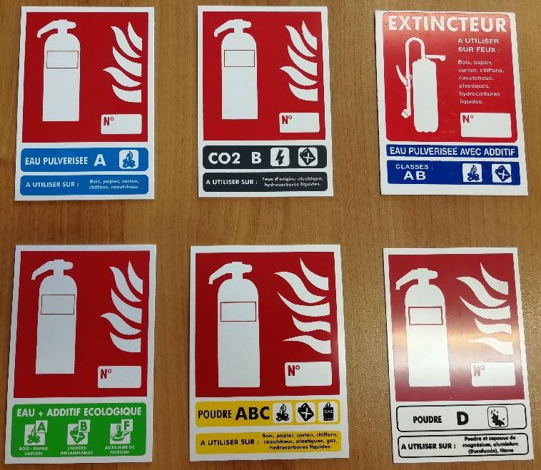 Panneaux classe de feux